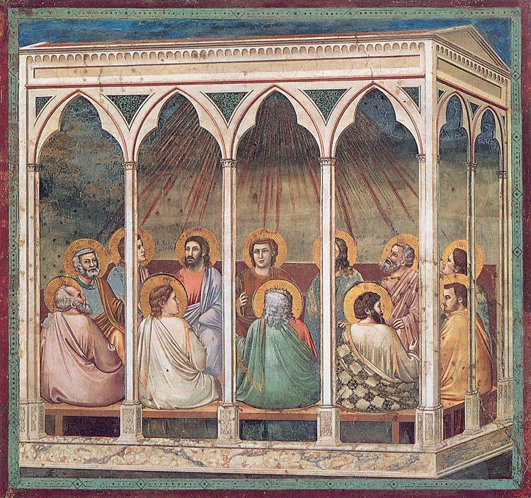 Pinksteren_Giotto_Padua