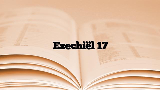 Ezechiël 17