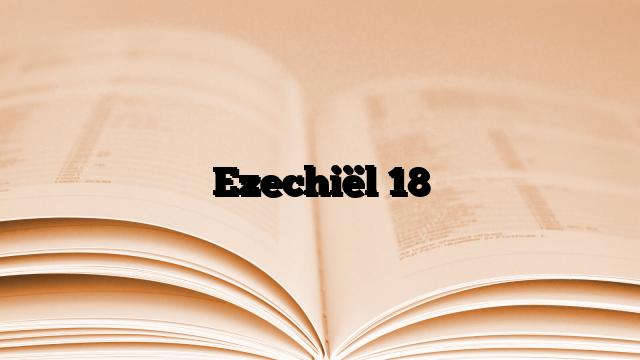 Ezechiël 18