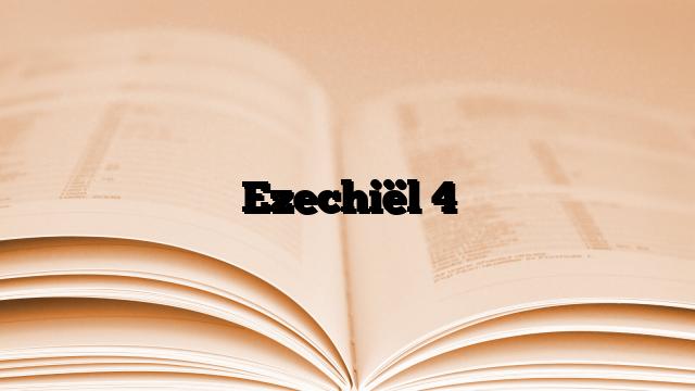 Ezechiël 4