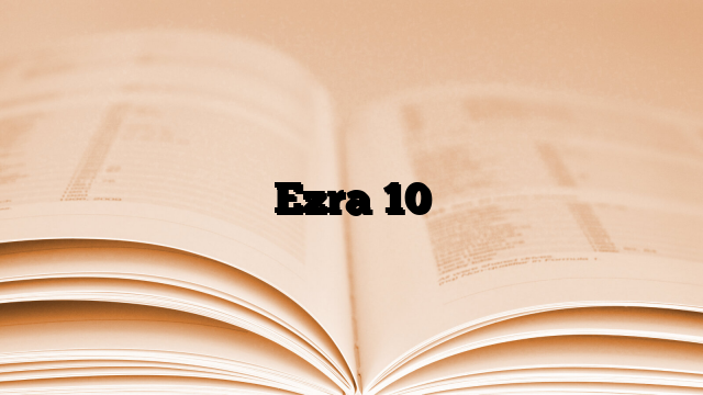 Ezra 10
