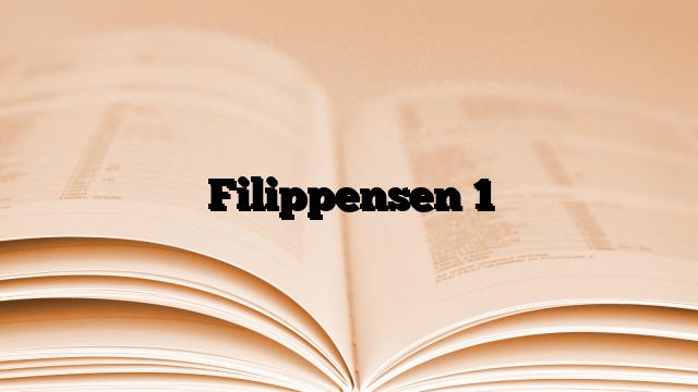 Filippensen 1