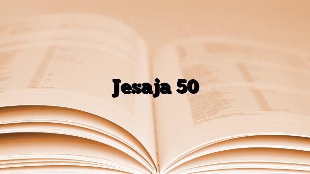 Jesaja 50