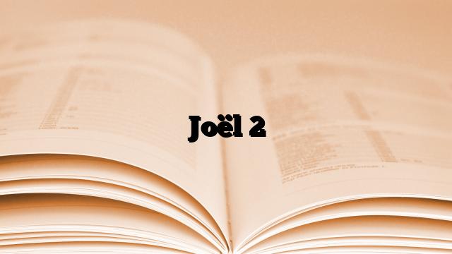 Joël 2