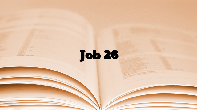 Job 26