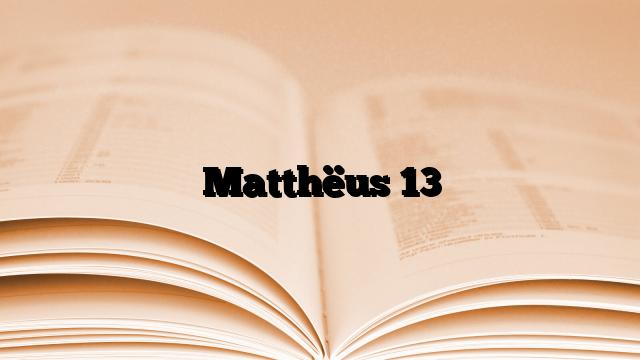 matth 235 us 13 brieven aan god
