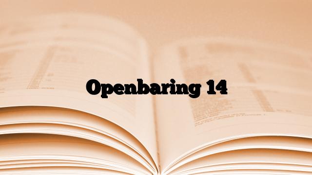 Openbaring 14